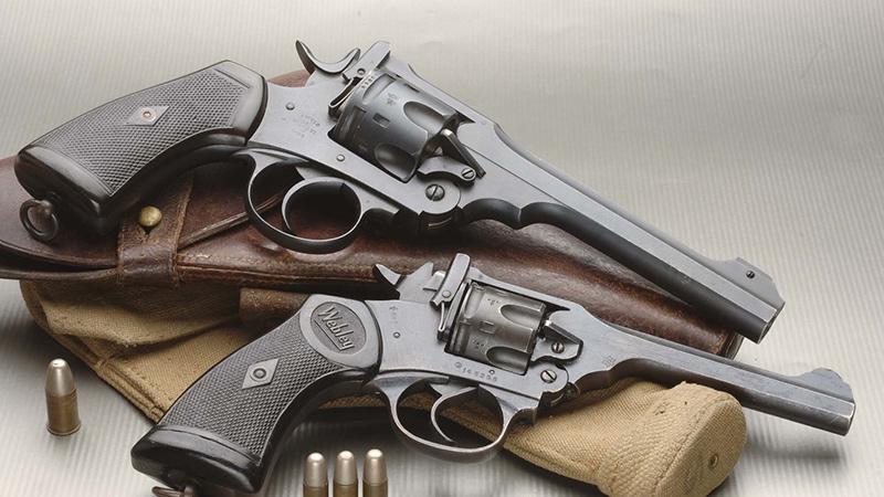 Веблей - английский револьвер