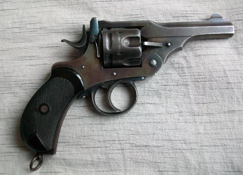 Револьвер Webley Mark I, 1887 год выпуска, Канада, калибр .455 (Mk I) Webley