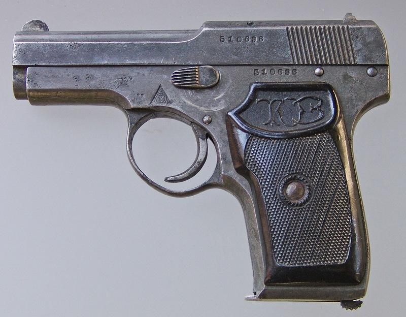 ТК (пистолет Коровина) - первый советский серийный самозарядный пистолет