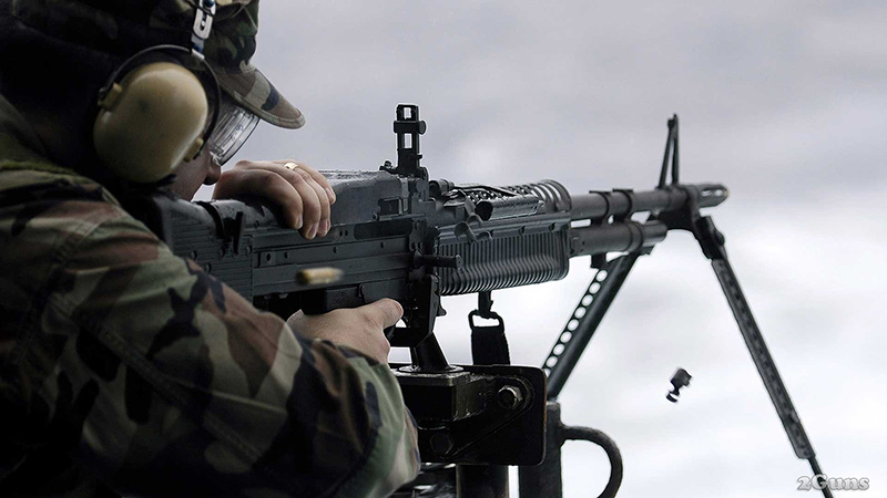 М60 - американский пулемет 7,62-мм