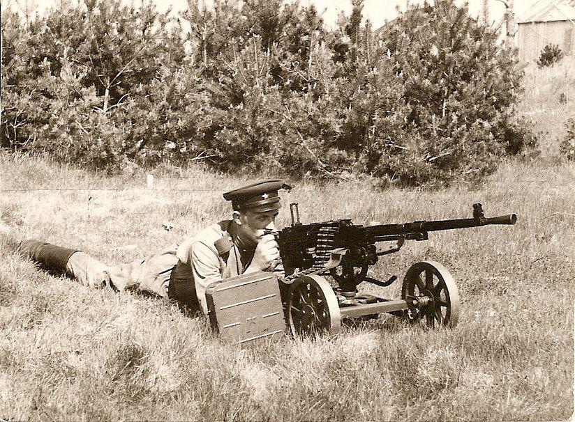 СГ-43 - станковый пулемет Горюнова