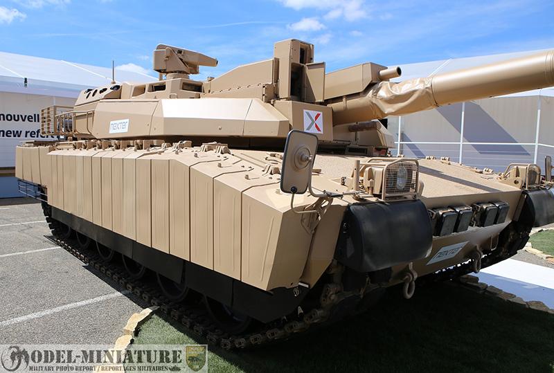 AZUR — модификация танка, оптимизированная для боевых действий в условиях города