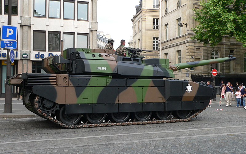 Леклерк - французский танк