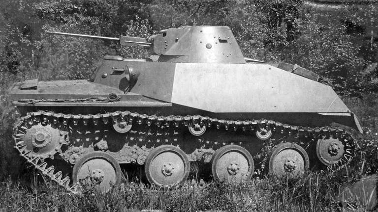 Т-40 - легкий танк