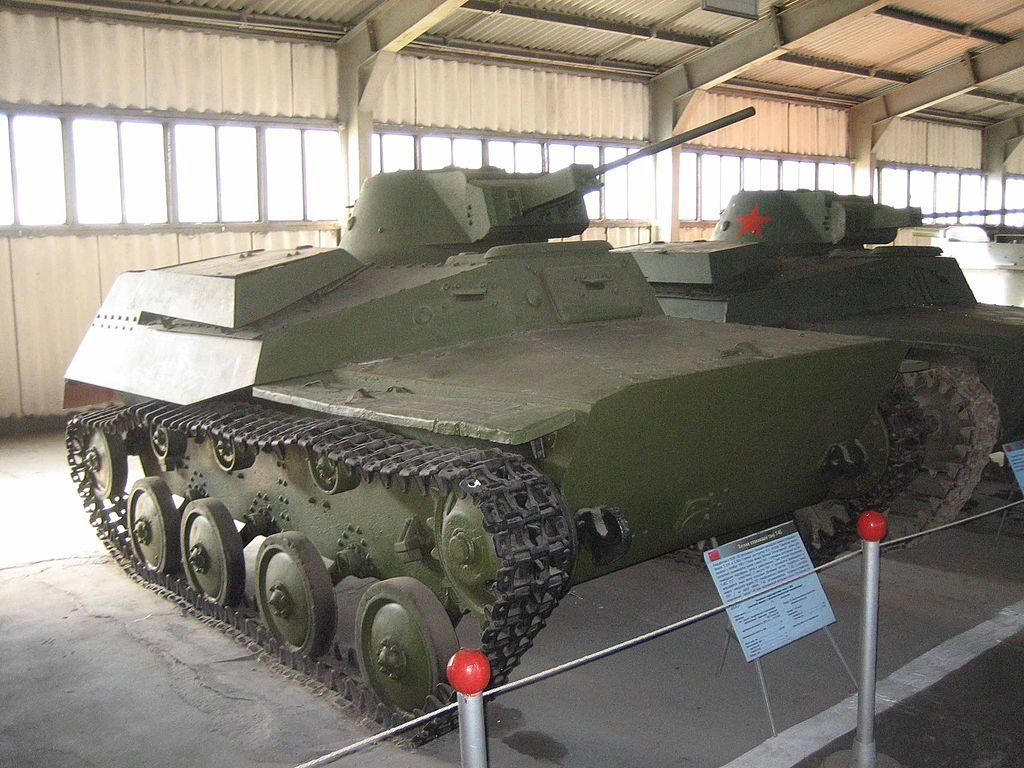 Т-40 с 20-мм пушкой ШВАК-Т