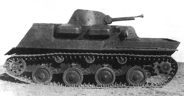 Плавающий танк Т-40