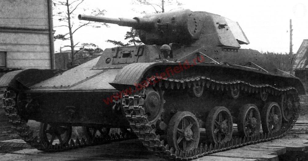 Т-60-2 с 45-мм пушкой ЗИС-19БМ