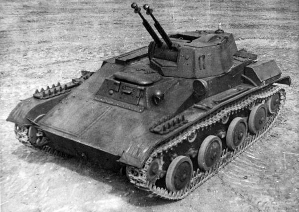 Т-60-З с двумя крупнокалиберными пулемётами ДШК