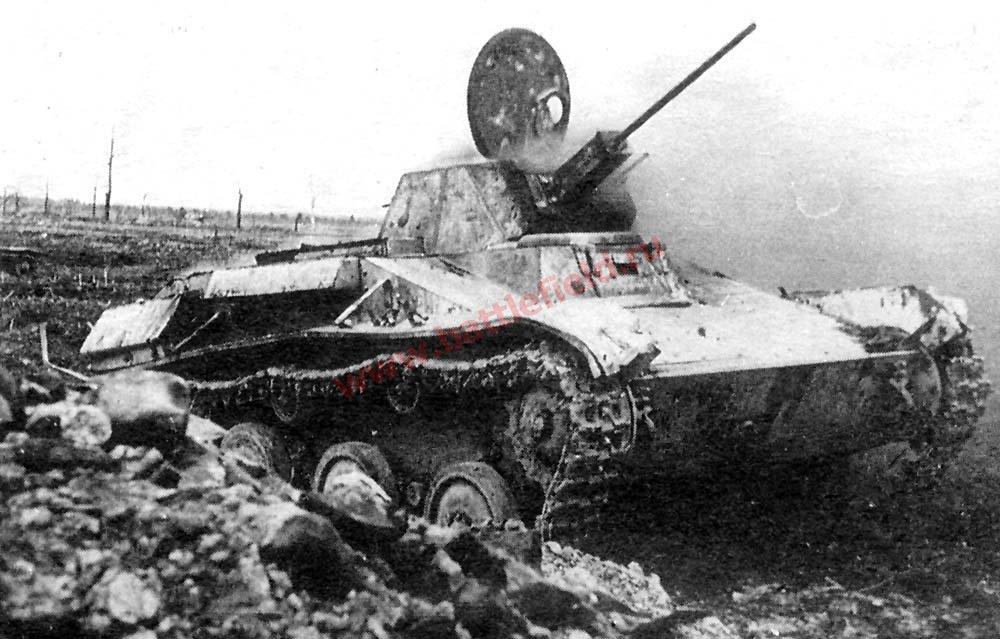 Т-60 - советский легкий танк