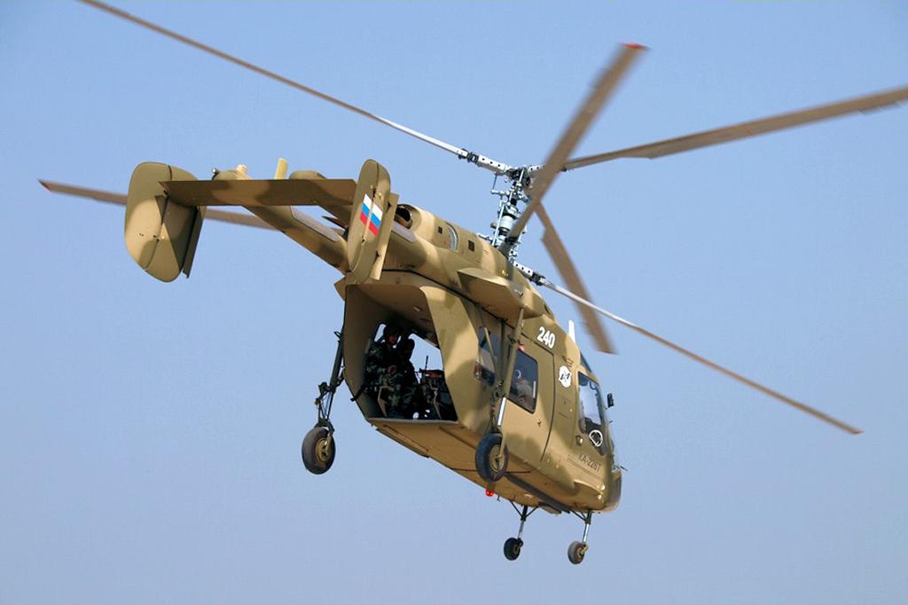 Ка-226 - российский многоцелевой вертолет