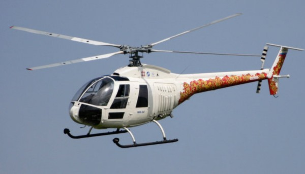Ми-34 - легкий многоцелевой вертолет
