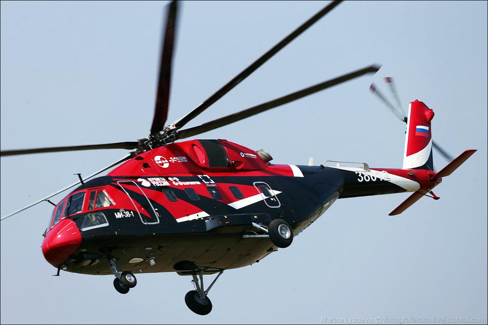 Ми-38 - российский многоцелевой вертолет