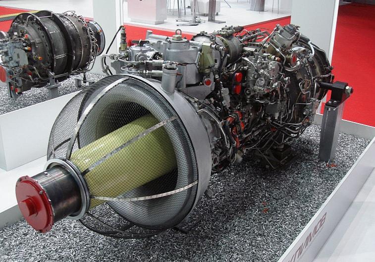 Двигатель Ми-38