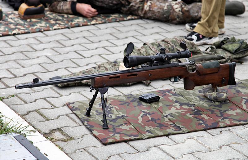 МЦ-116М - снайперская винтовка 7,62 мм