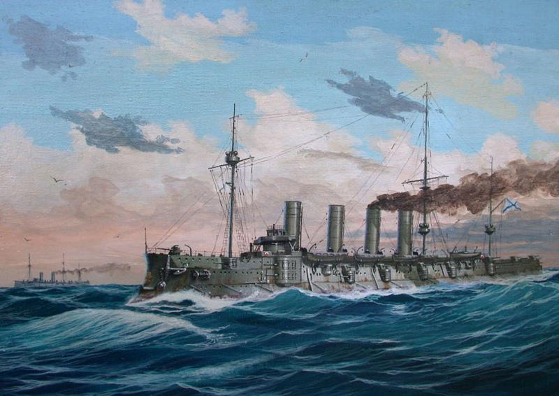 Громобой - броненосный крейсер