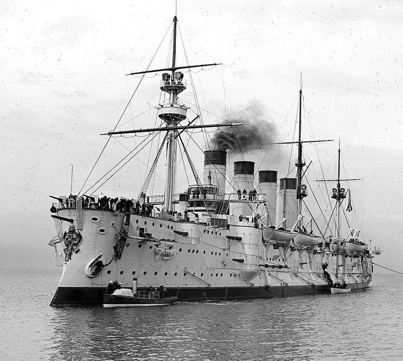 Крейсер Громобой в 1901 году