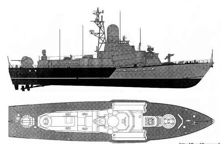 Проект 1234 шифр «Овод» малые ракетные корабли