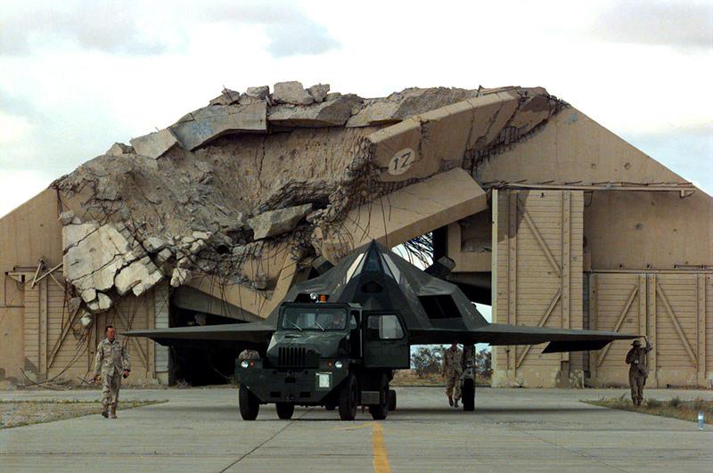 F-117 в Кувейте, 1998 год
