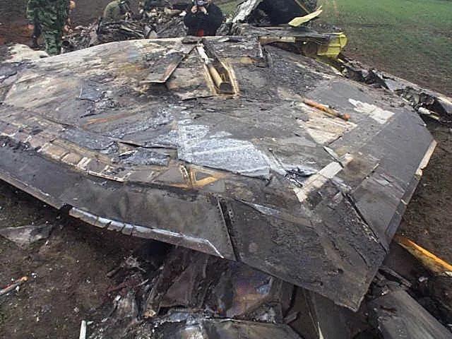 F-117 «Найт Хок» сбитый в ходе военной операции НАТО против Югославии