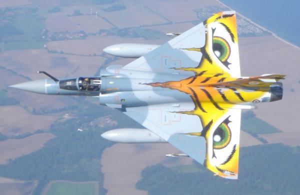 'Мираж' 2000 D/N многоцелевой истребитель ВВС Франции