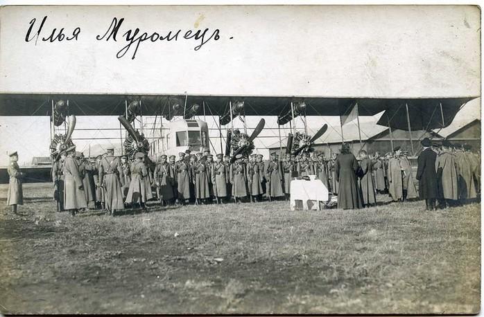 С-22 «Илья Муромец» - бомбардировщик Российской империи