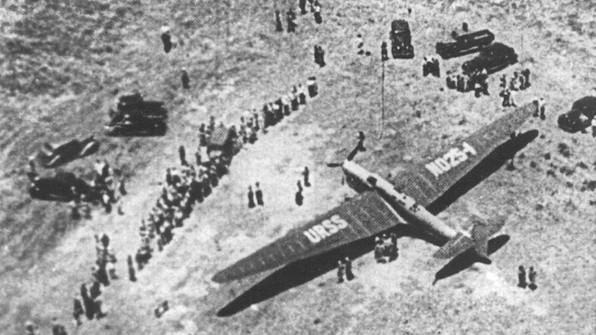 АНТ-25 (РД) - рекордный самолет