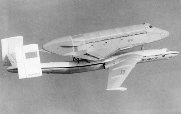 Полет самолета ВМ-Т 'Атлант' (3М-Т)