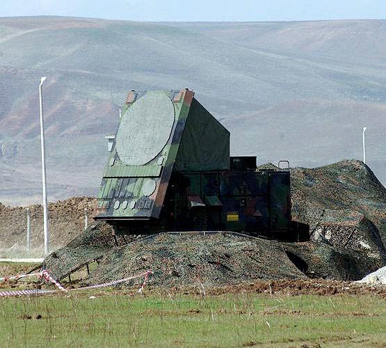 Станция наведения ракет с ФАР ЗРК Пэтриот