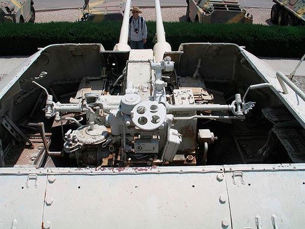 ЗСУ-57-2 - зенитная самоходная артиллерийская установка