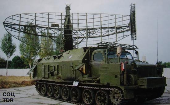 Станция обнаружения целей 1С12 ЗРК 'Круг-М'