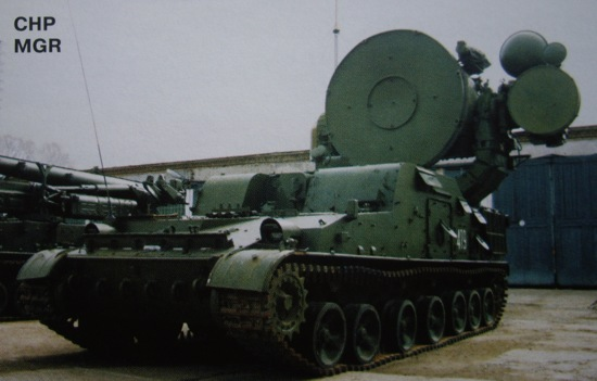 Станция наведения ракет 1С32 ЗРК 'Круг-М'