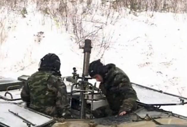 2К32 «Дева» - самоходный 82-мм минометный комплекс