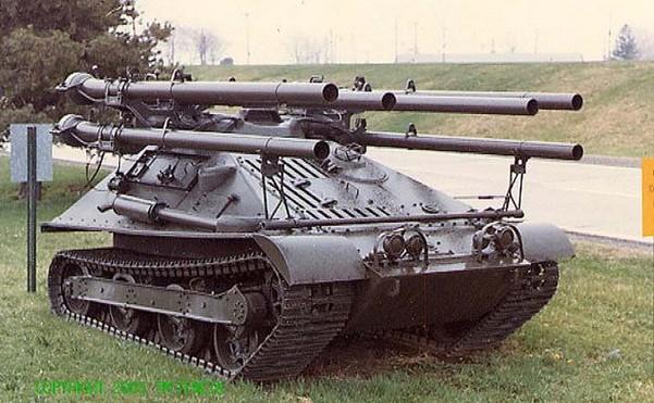 М50 «Онтос» - американская многоствольная САУ