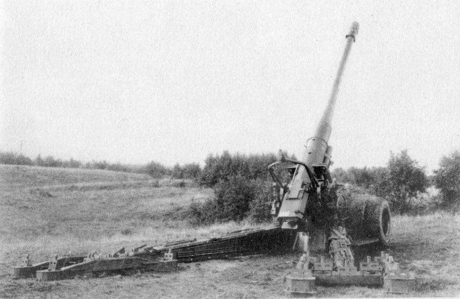 С-23 - советская пушка калибр 180-мм