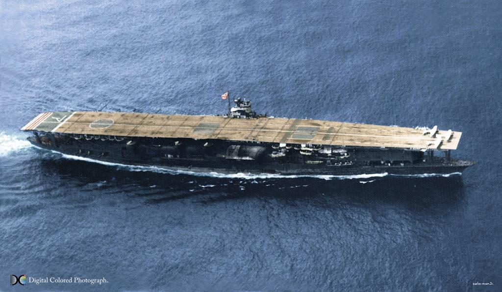 Акаги - японский авианосец Второй мировой войны