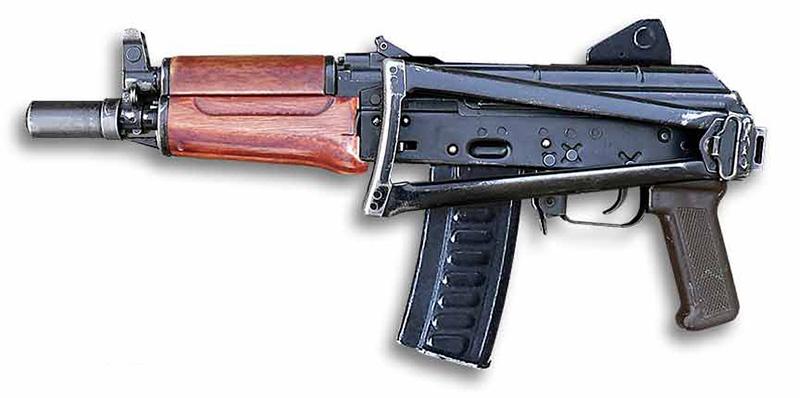 Тисс - автомат калибр 9-мм