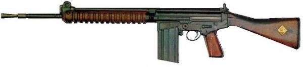 Прототип винтовки FN FAL