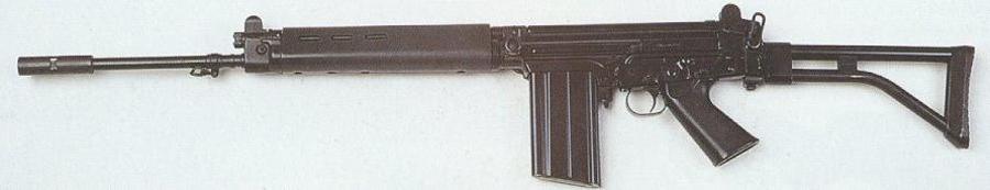 FN FAL - бельгийская автоматическая винтовка