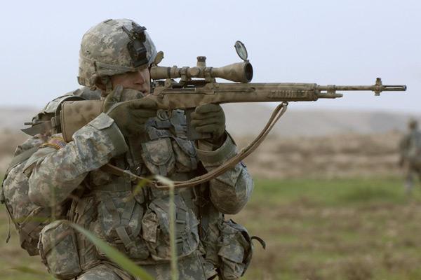 Автоматическая винтовка M14