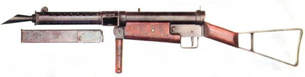 Пистолет-пулемет STEN Mark 1 (STEN Mk.I)