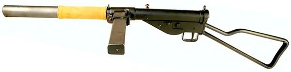 Пистолет-пулемет STEN Mk.II S