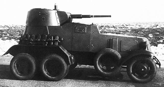 БА-10 - советский бронеавтомобиль