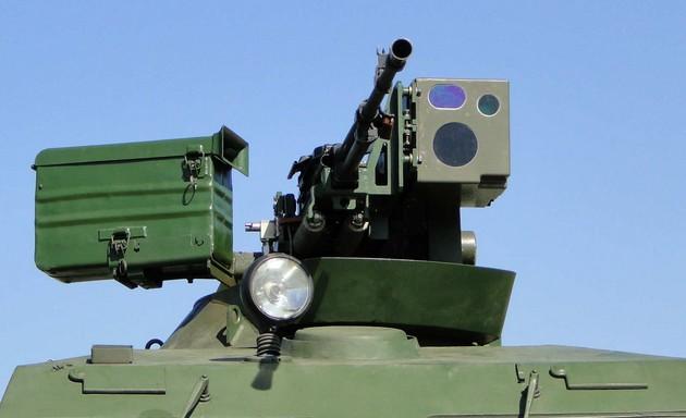 Башенная пулеметная установка с дистанционным управлением БПУ-12,7