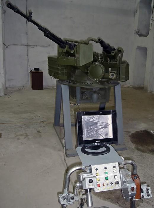 Боевой модуль дистанционного управления огнем 'Блик-2'