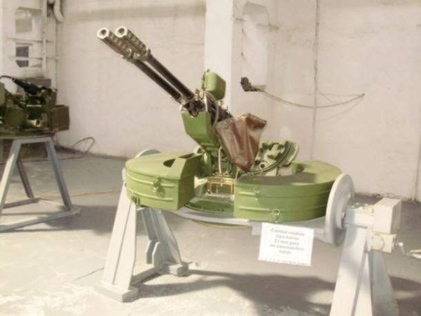 Спаренная 23-мм автоматическая пушка