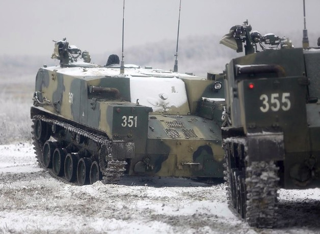 БТР-МД «Ракушка» - десантируемый бронетранспортер
