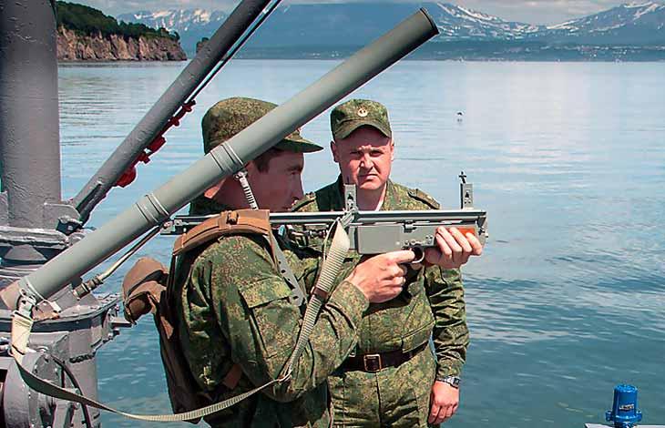 ДП-61 «Дуэль» - противодиверсионный гранатомет