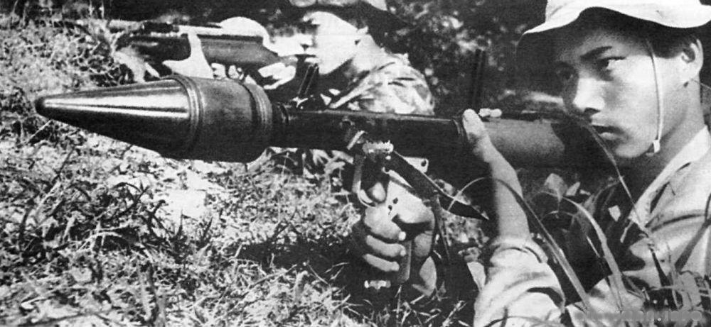 Гранатомет РПГ-2 широко использовался во время войны во Вьетнаме