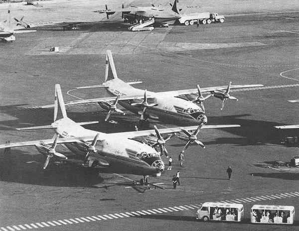 Ан-10 Среднемагистральный пассажирский самолет