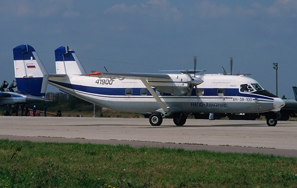 Ан-38 - самолет местных воздушных линий